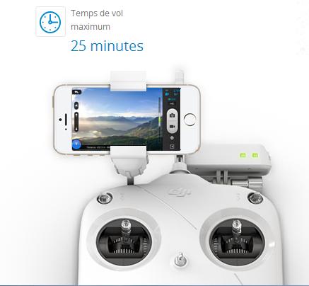 Télécommande + Iphone